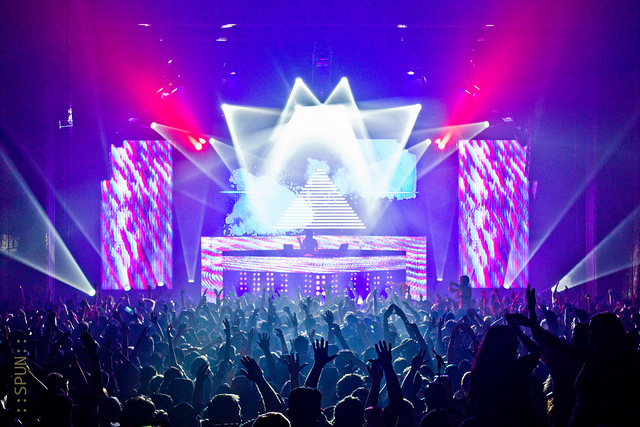 A religious experience: Bassnectar at the Congress Theater in April 2012. (Flickr/SpunarN!CK!)