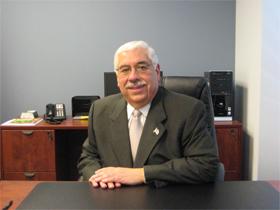 Joe Berrios, in 2010, at his desk at the Cook County Democratic Party. (WBEZ/Sam Hudzik)