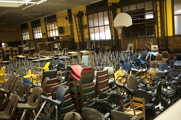 Parkman Elementary (WBEZ/Bill Healy)