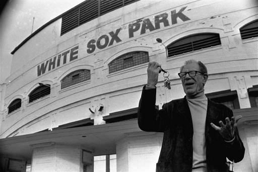 Bill Veeck Jr. buys the White Sox in December of 1975. (AP Photo/CEK)