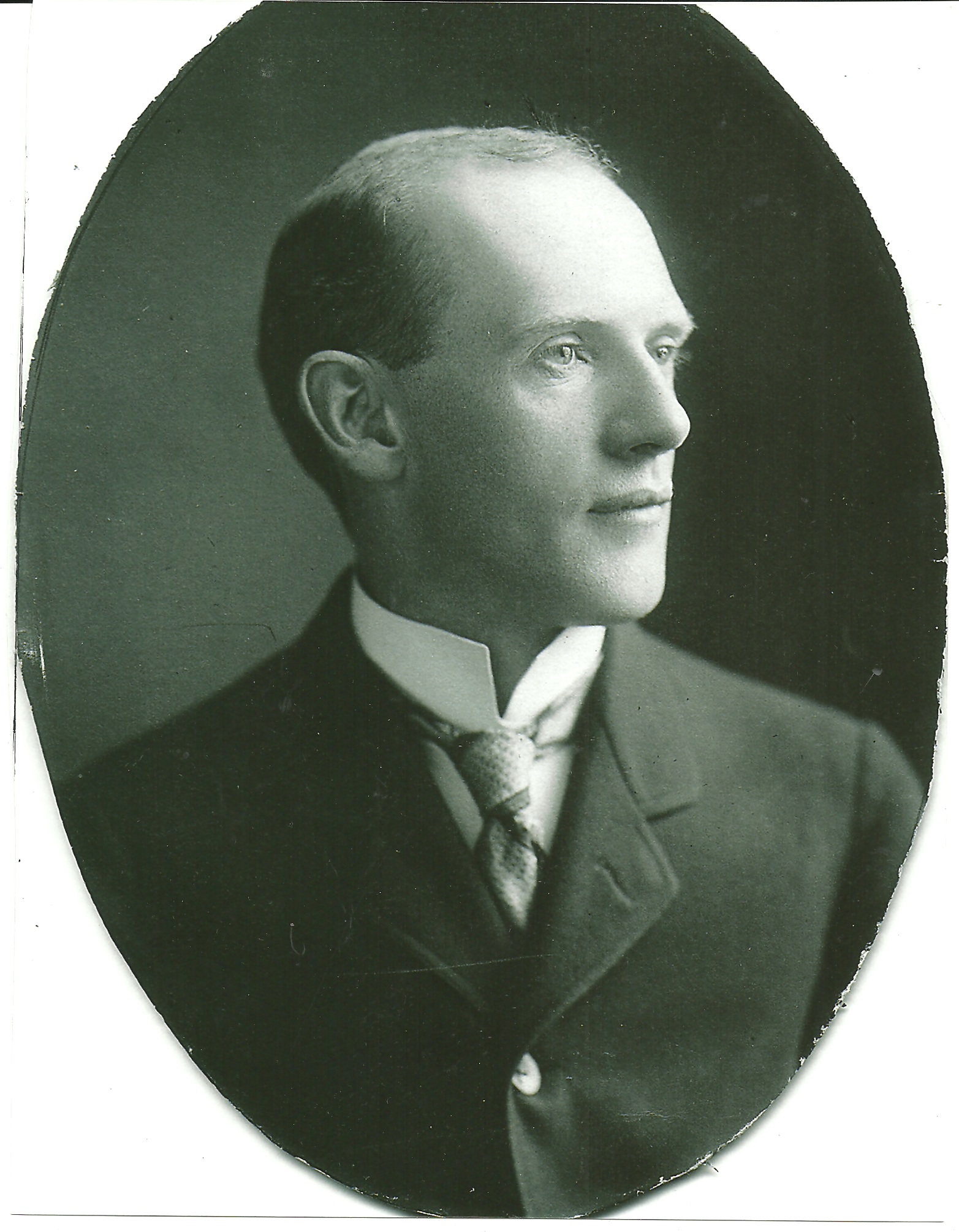 Edward Paul Brennan in 1910, who devoted his life to crafting a perfect plan for Chicago street nomenclature. (Photo courtesy Adelaide Brennan)
