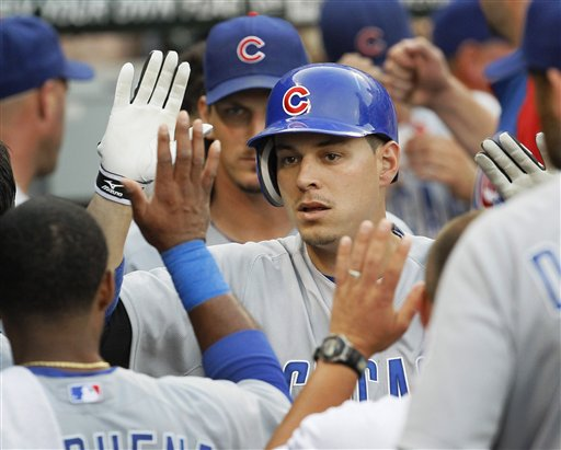 Cubs All-Star Bryan LaHair was a surprise pick from the last place team. (AP/Charles Rex Arbogast)