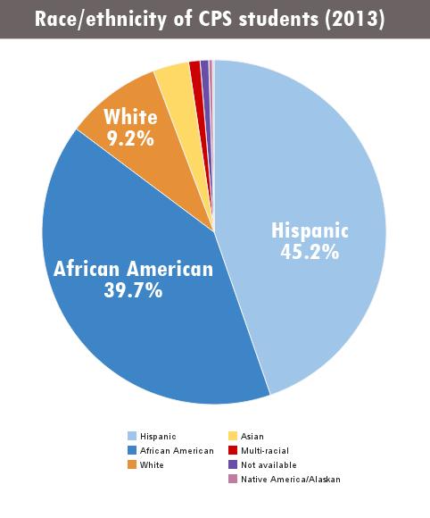 Source: Chicago Public Schools Race/Ethnic Report School Year 2013-2014