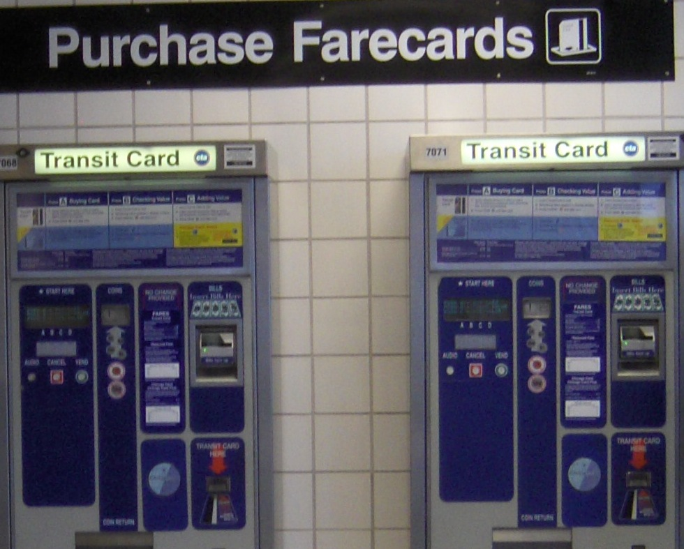 CTA fare machines (Vxla, on Flickr)
