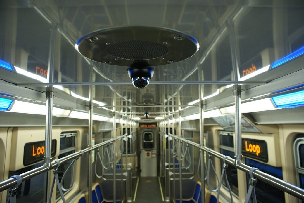 The new, posh CTA rail cars. (CTA/Flickr)