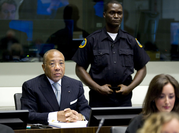 Former Liberian President Charles Taylor was convicted of crimes against humanity last week. (AP)