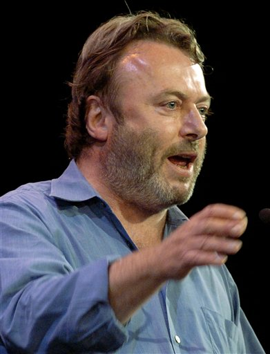 The late essayist Christopher Hitchens  (AP Photo/Chad Rachman, File)