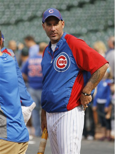 Cubs manager Dale Sveum (AP Photo/Charles Rex Arbogast)