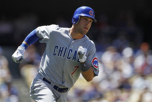 Cubs fans have an opportunity to see recent call-up Brett Jackson this weekend. (AP/Danny Moloshok)