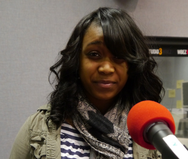 (WBEZ/file) Destiny McClendon of Brooks College Prep's Lyrikally Xplicit