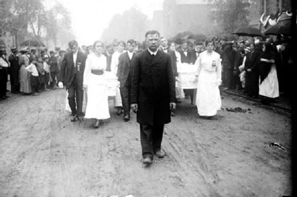 Funeral for Cicero couple (Library of Congress/Chicago Daily News)