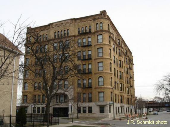 Chicago Landmark: The Yale Apartments--6565 S. Yale Ave.