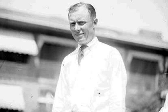 Evans in 1922 (Chicago Daily News)