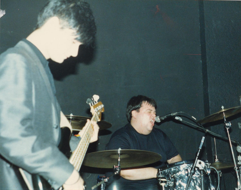 The Ex-Lion Tamers at Maxwell's, 1987 (John Baumgartner).