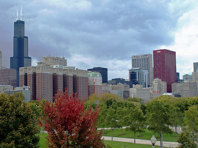 Grant Park in the fall. (Flickr/PhilontheWeb2001)