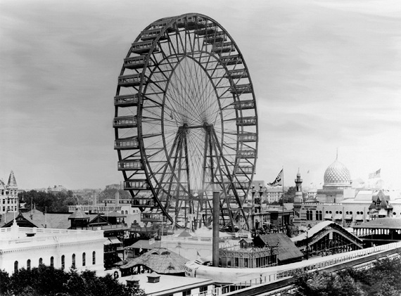 The original Ferris Wheel (Wikipedia Commons)