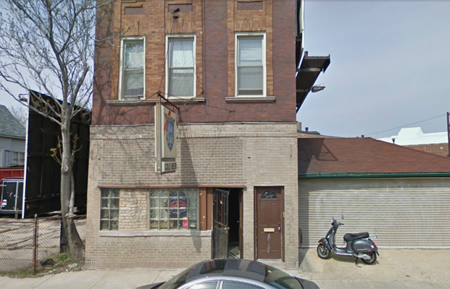 This unassuming spot on North Elston Avenue is home to Frank and Mary's Tavern, which police Sgt. Dave Haynes says is his favorite lunch spot in town. He especially loves 'meatloaf Wednesdays.' (Image courtesy of Google Maps)