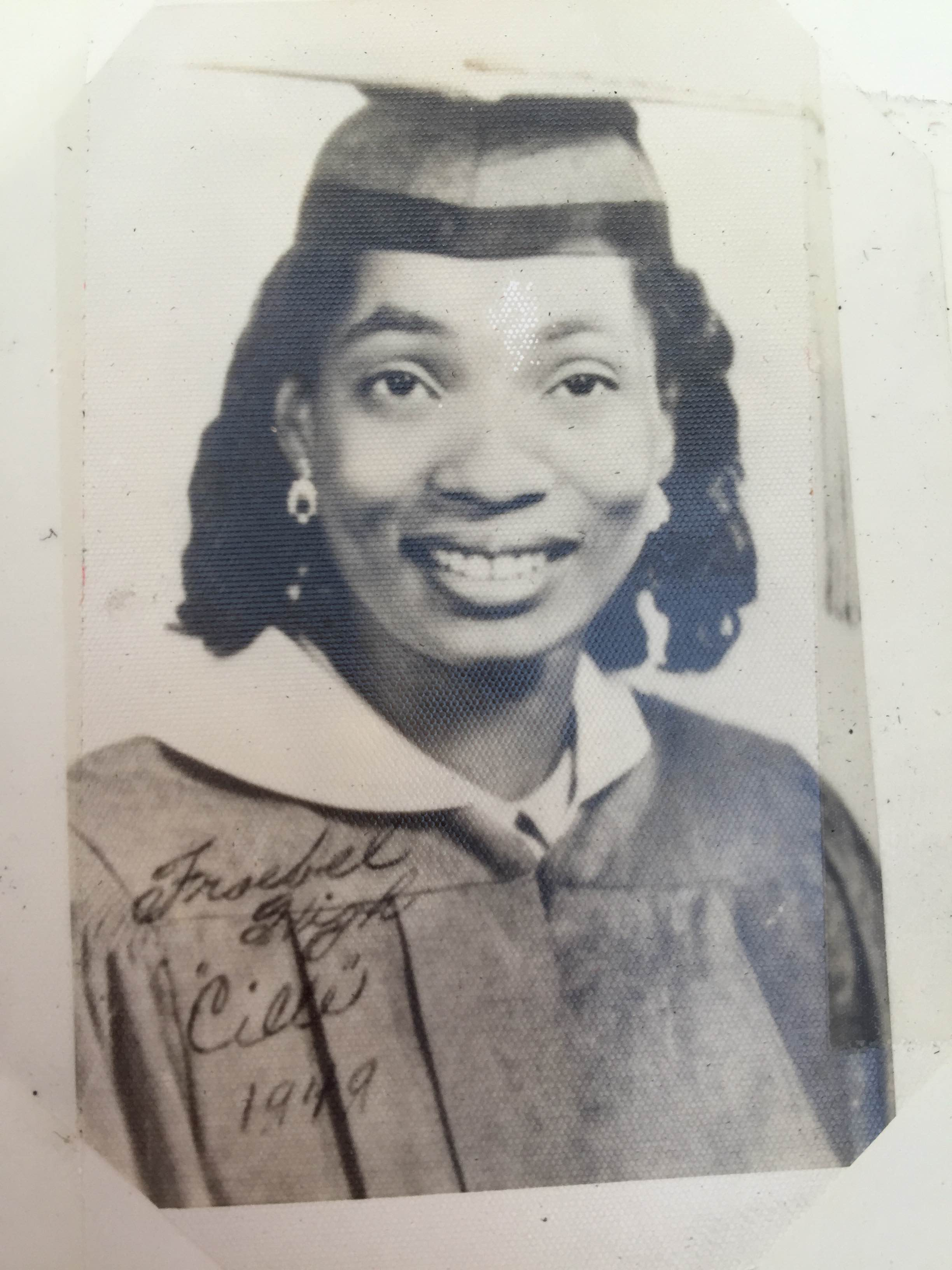 Lucille Bobo, maiden name nee Gause - is pictured in her 1949 Froebel High graduation photo. (Lucille Bobo)