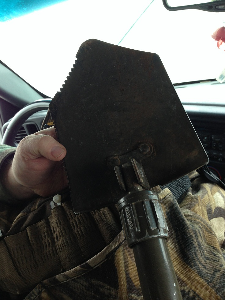 George carries this tool in his car at all times. (Aurora Aguilar)