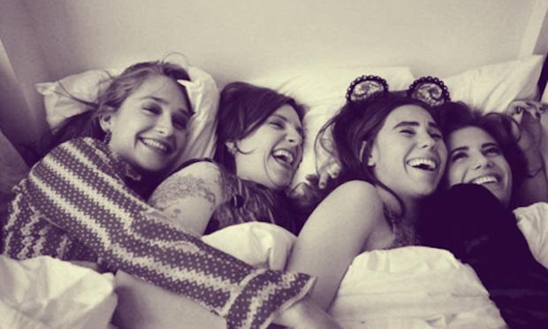 From left: Jemima Kirke, Lena Dunham, Zosia Mamet and Allison Williams: the stars of HBO's smash-hit 'Girls.' (Hollywood Reporter/HBO)
