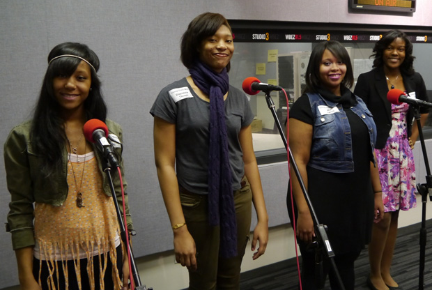(WBEZ/file) Gwendolyn Brooks College Preparatory Academy's poetry team Lyrikally Xplicit