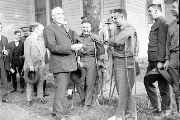 Warren G. Harding: 'He looked like a President.' (Library of Congress)