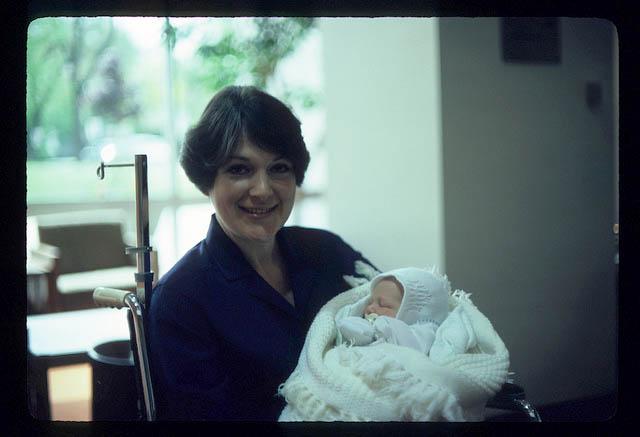 Janice Zulkey and baby Jack. (Courtesy of the author)