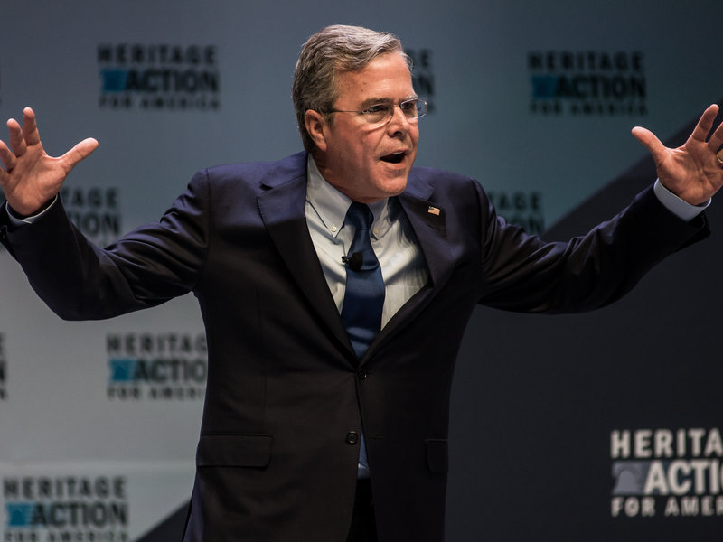 Jeb Bush is the latest Republican to offer an alternative to Obamacare. (Sean Rayford/Getty Images)