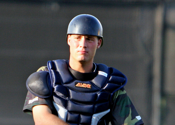 Catcher Jeff Kunkel with one of the Detroit Tigers' minor league teams. (Photo by Pam Kunkel)