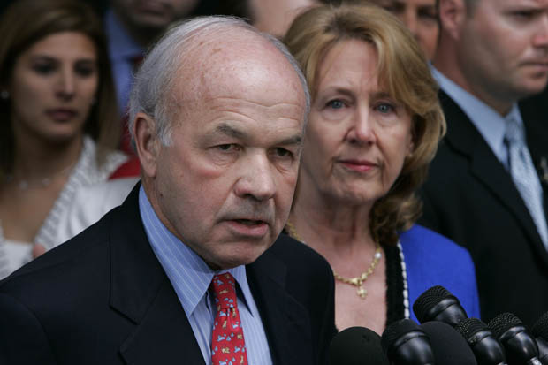 Enron founder Kenneth Lay during his 2006 corruption trial. (AP/Pat Sullivan, FILE)