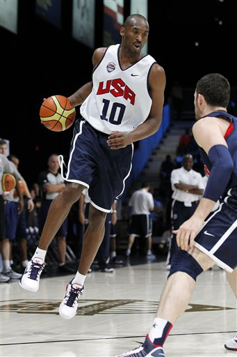 Kobe Bryant remarked that this year's Olympic team is better than the 1992 'Dream Team.' (AP/Alex Brandon)