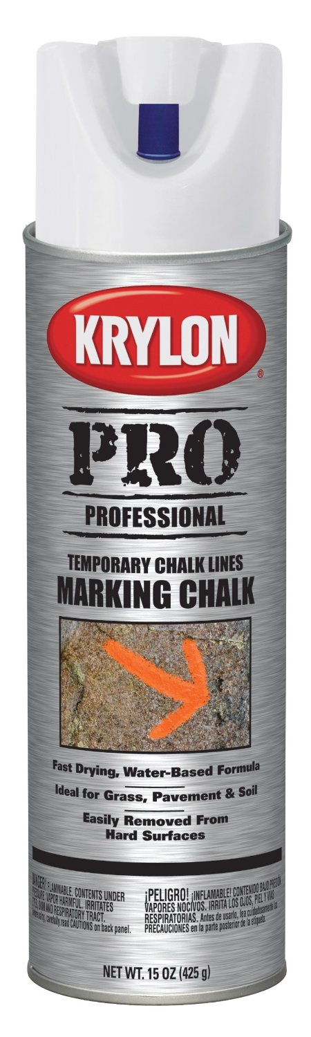 Says the manufacturer: Provides excellent temporary marking... easily removed from hard surfaces.