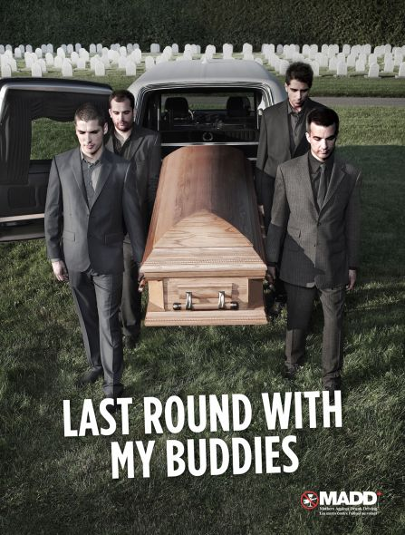 Ads like this were used by MADD to change the culture around drunk driving.