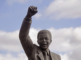 Even after Nelson Mandela's victory 18 years ago, South Africa still has work to do. (AP Photo/Schalk van Zuydam, file)