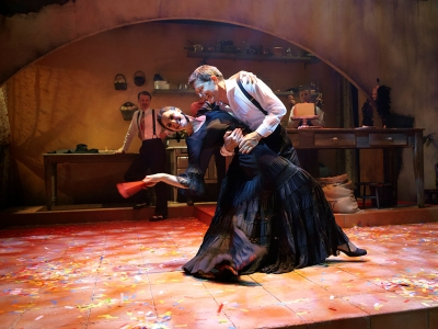 Rick Bayless and Chiara Mangiameli in 'Cascabel'