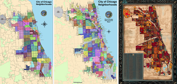 Maps courtesy of City of Chicago and Big Stick, Inc.