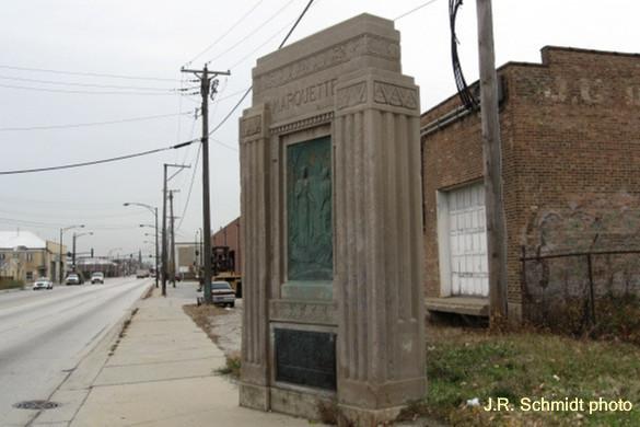 Marquette Monument--2701 S. Damen Ave.