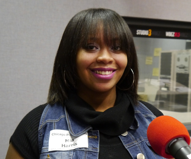 (WBEZ/file) Lyrikally Xplicit's Mia Harris of Brooks College Prep