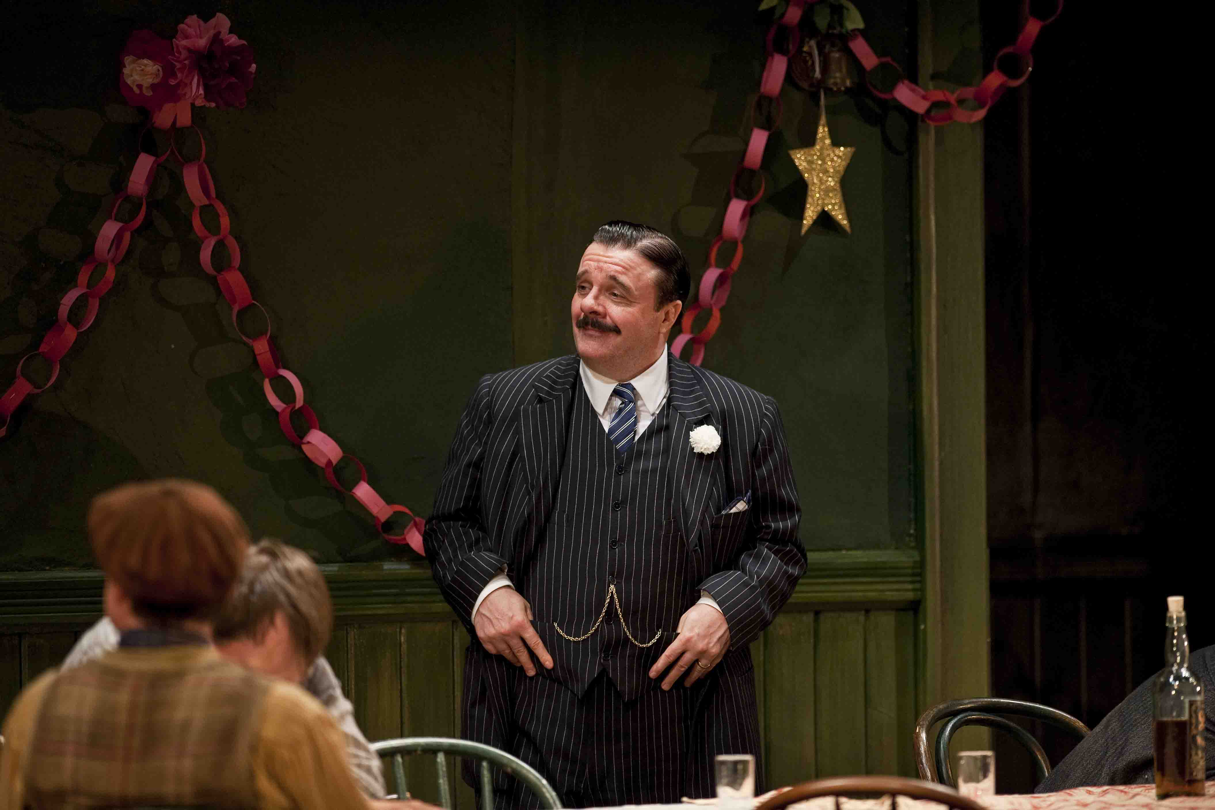 Nathan Lane in 'The Iceman Cometh' (Photo by Liz Lauren)