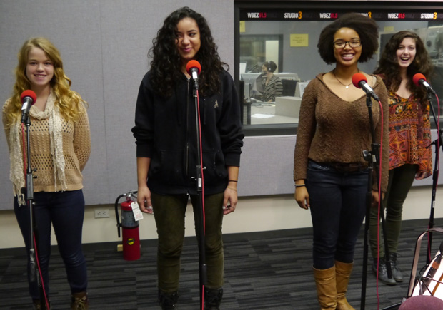 (WBEZ/file) Oak Park and River Forest's poetry team