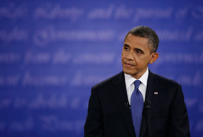 Obama lost out in Wednesday night's presidential debate. (AP)
