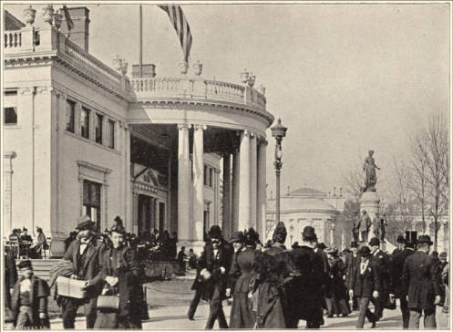 The Ohio State building from the Columbian Exposition of 1893 in Chicago. (courtesy of the Field Museum)
