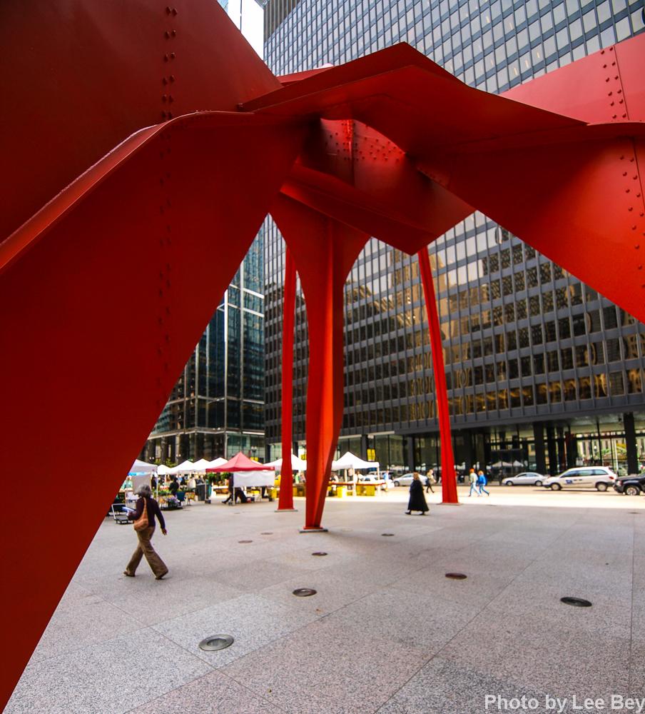 Flamingo unchained: Restoration makes famed modernist sculpture ...