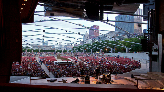 Handsome Family at Pritzker Pavilion, Chicago 35 (Flickr/pmonaghan)