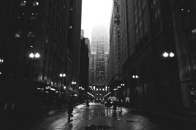 Morning on LaSalle (Flickr/Bob Vonderau)