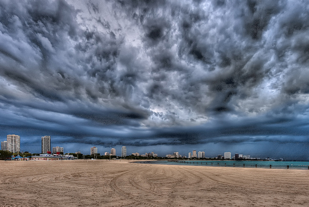 North Avenue Storm (Flickr/Milosh Kosanovich)