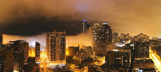 South Loop Fog (Flickr/Bob Vonderau)
