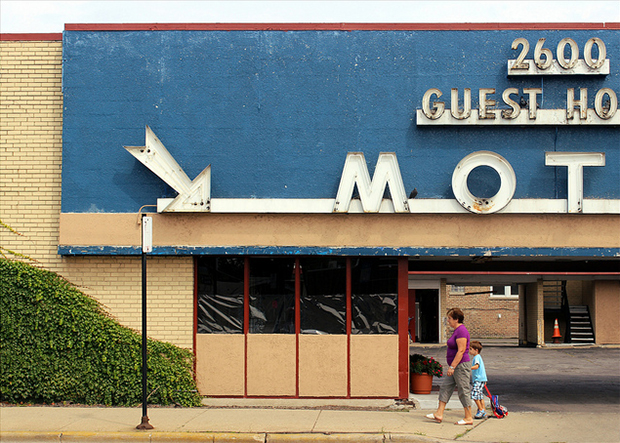 The Lincoln Avenue Motels (Flickr/Stephanie Barto)