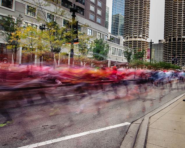 Chicago Marathon 2012 (Flickr/Andrew Carlin)