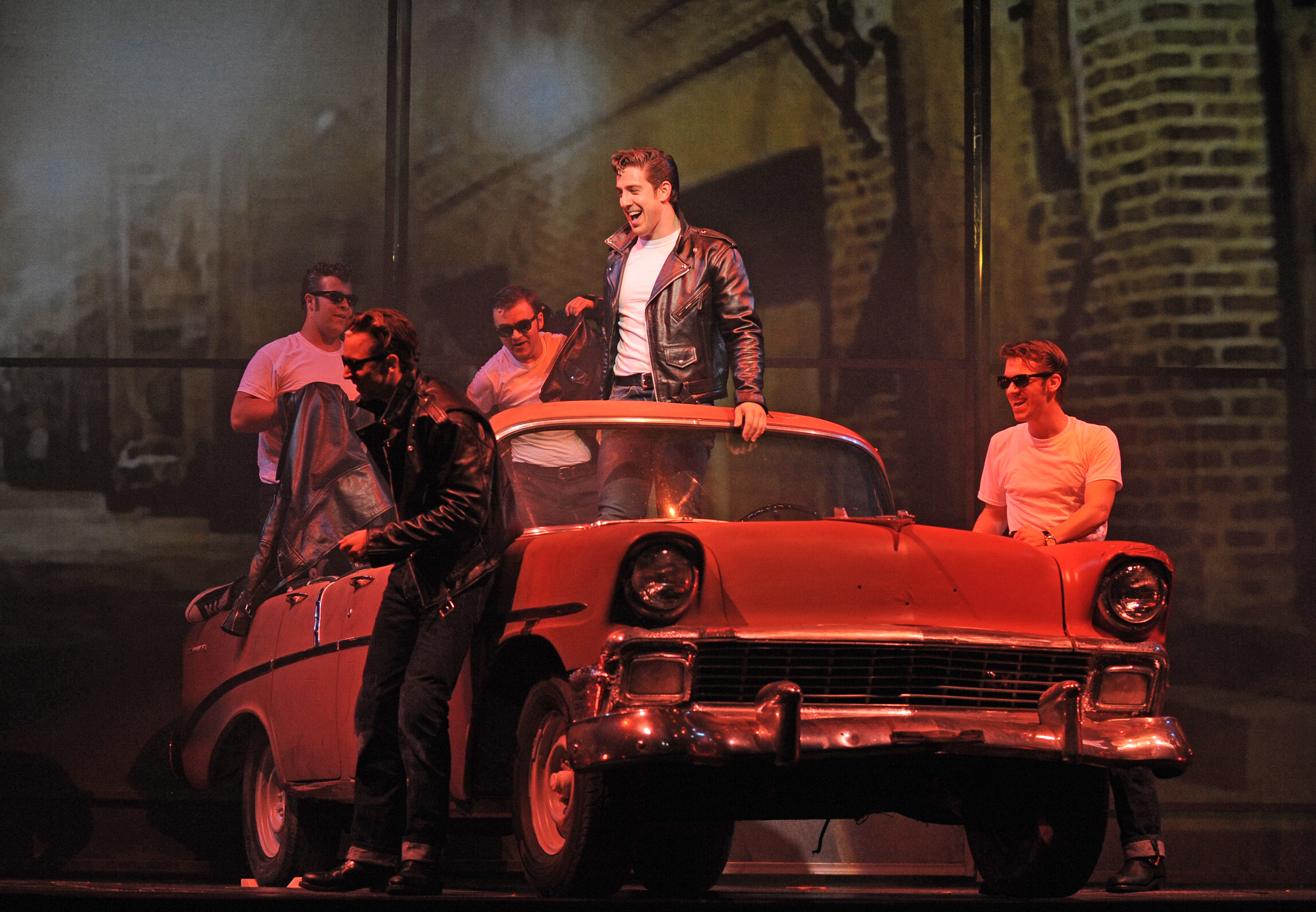 The cast of 'Grease.' (Photo by  Liz Lauren)